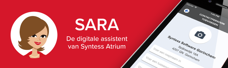 Syntess Software | Met SARA uw relaties on the road raadplegen